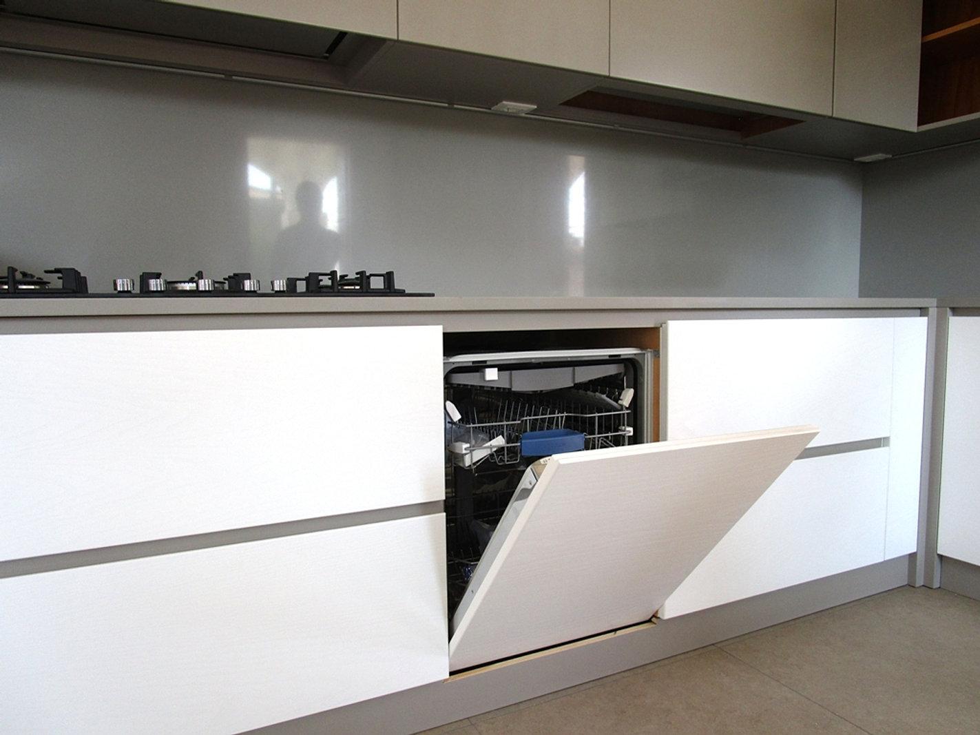 Pannelli tv angolare - Top cucina grigio ...