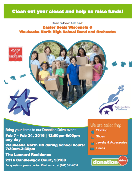 Northstars and Easter Seals | northstarbands