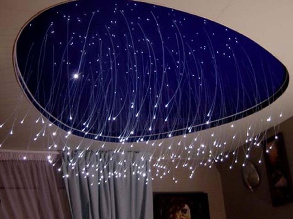 Звездные потолки своими руками фото