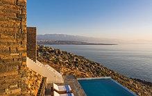Rental villa private pool in Crete