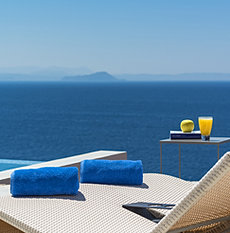 Exclusive villa with pool in Crete