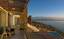 Exclusive seafront villa near Chania