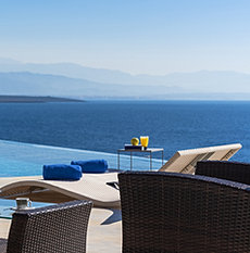 Exclusive villa with pool Chania