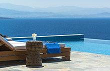 Luxury villa private pool Chania