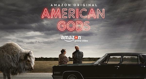 תוצאת תמונה עבור american gods tv poster