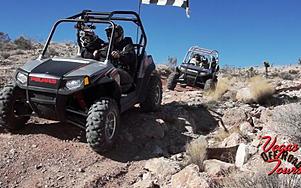 Vegas Off Road Tours owners, Mel & Debra Stotts at the Pioneer Saloon in Goodsprings. Enjoy your Las Vegas desert tour with us the Las Vegas ATV tours adventurists