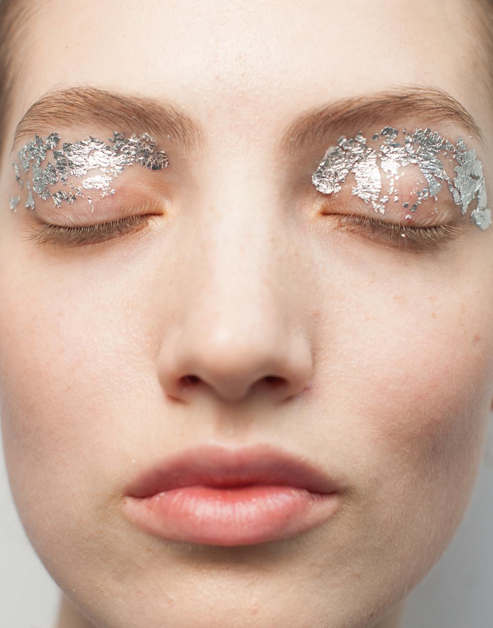 Term 2 Week 6 22nd February Gold Leaf Eye Makeup Blog