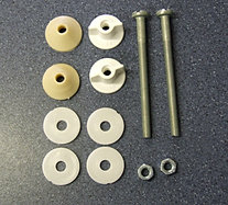 Toilet Spares Closed Coupled Cistern Fitting Kits