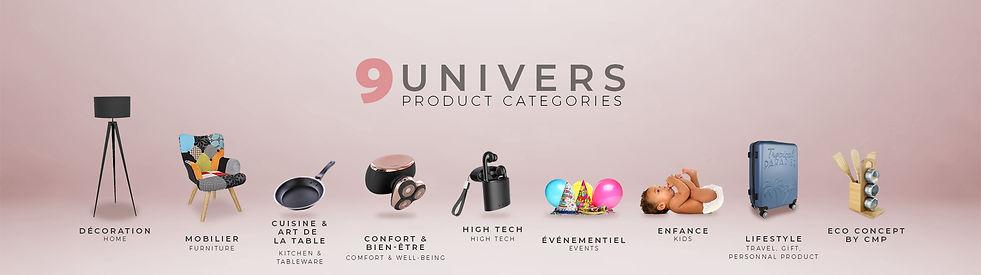 CMP Group  categories de produits