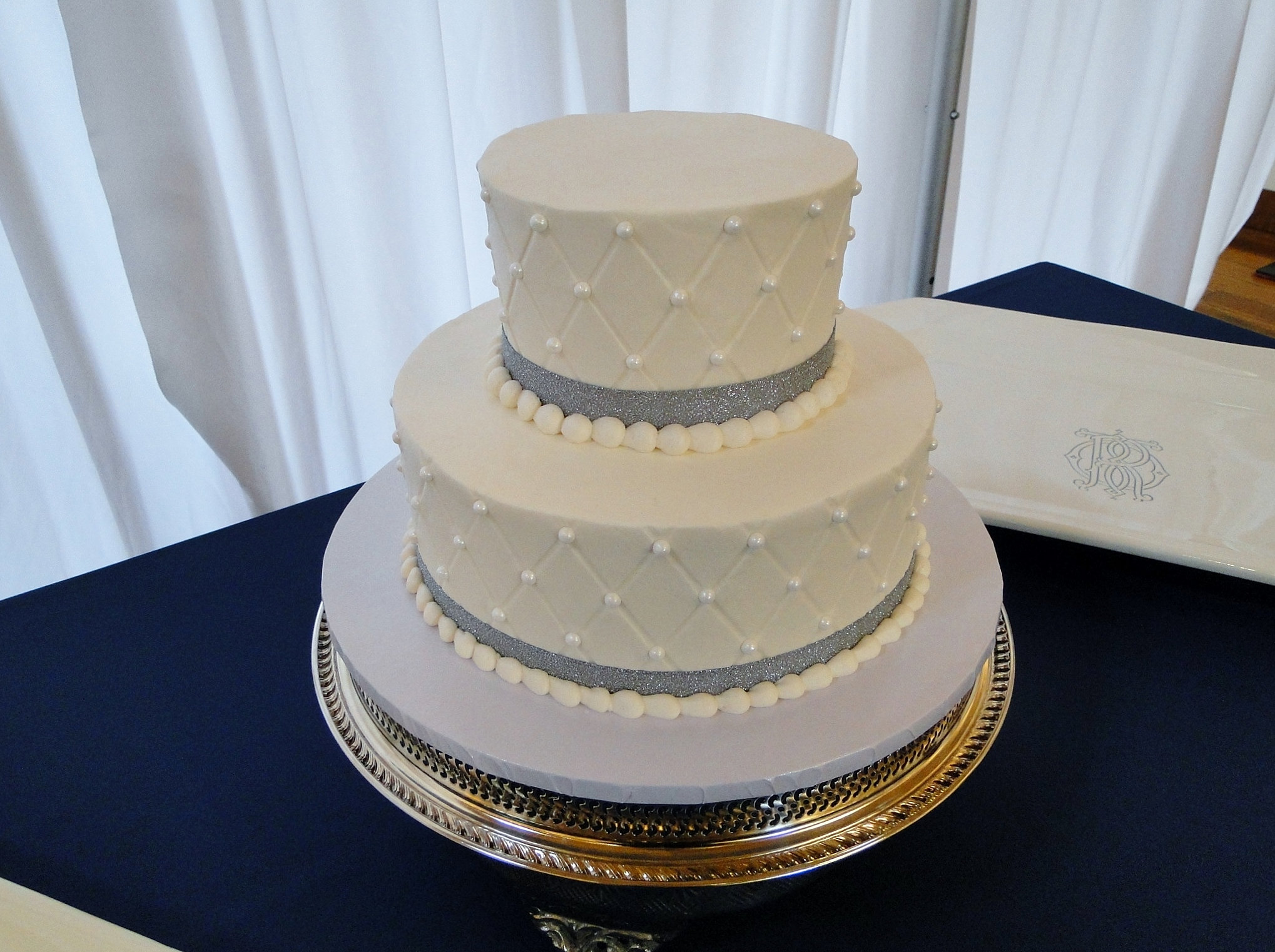 Wedding Quilted Cake