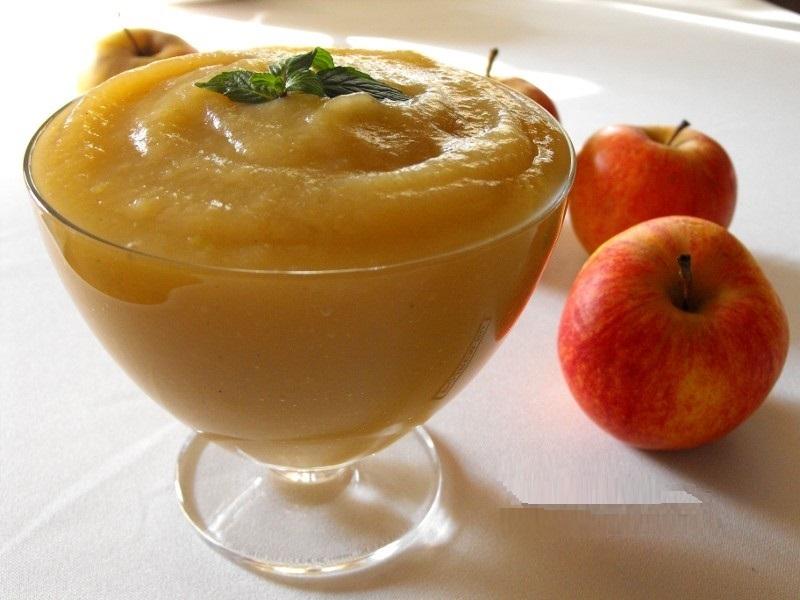 Пюре яблок рецепт фото