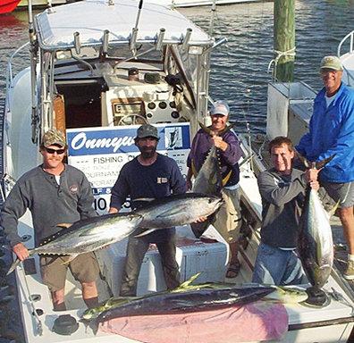 Onmyway charters carolina beach nc fishing charters for Deep sea fishing wilmington nc