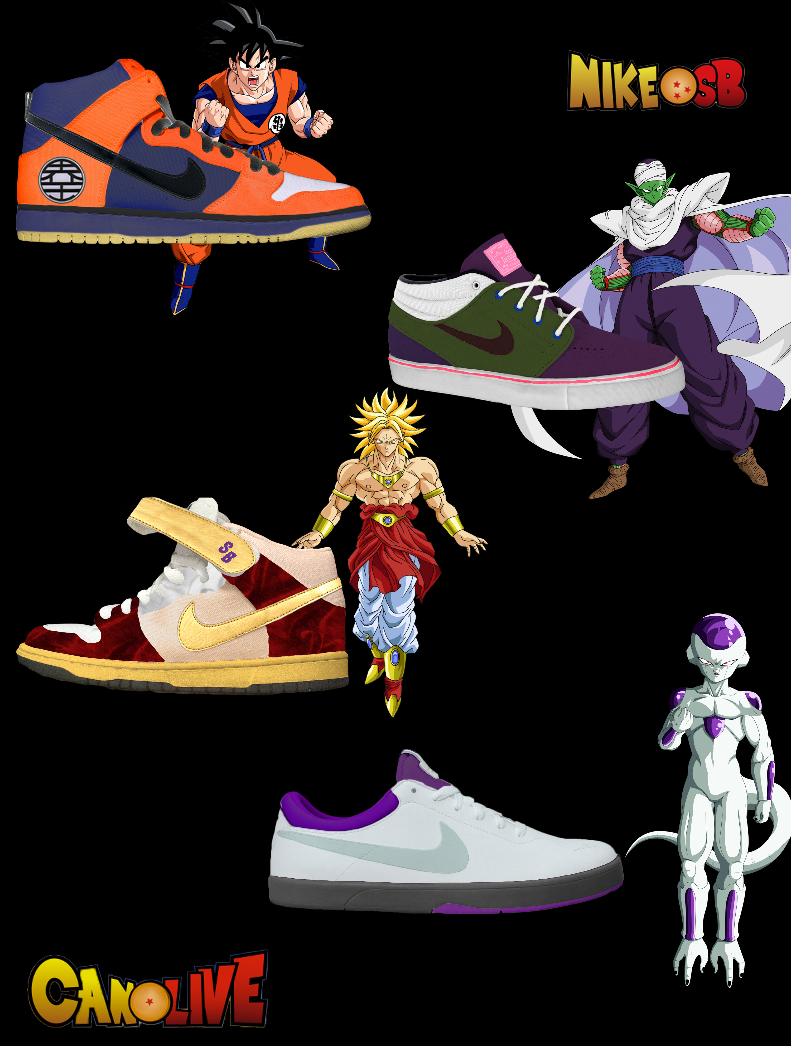 Nike Dragon Ball Shoes