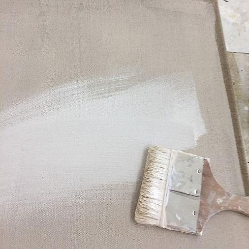 Still preparing  new canvas...#art#artwo