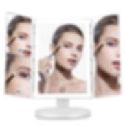 Gustala Tri-fold Makeup Vanity Mirror
