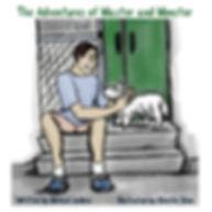 Demon Bitch, West Highland, white, terrier, Kickstarter, HoraTora Studios, Christie Shinn, dog, westie, adventures, children, kid, billingual, English, French, enamel pin, drawings, scribble, sketch, comics