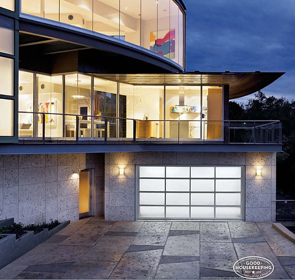 Glass garage door showcase san diego - Glass garage doors san diego ...