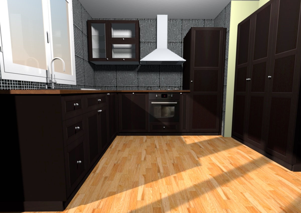 Sweet home 3d importer des meubles ikea forum d co for Meuble cuisine noir ikea