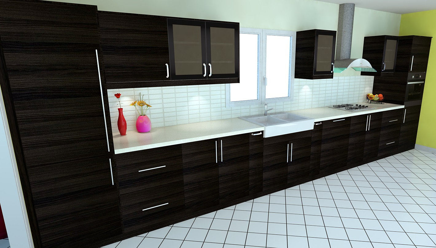 logiciel 3d realiser votre cuisine dynamique. Black Bedroom Furniture Sets. Home Design Ideas