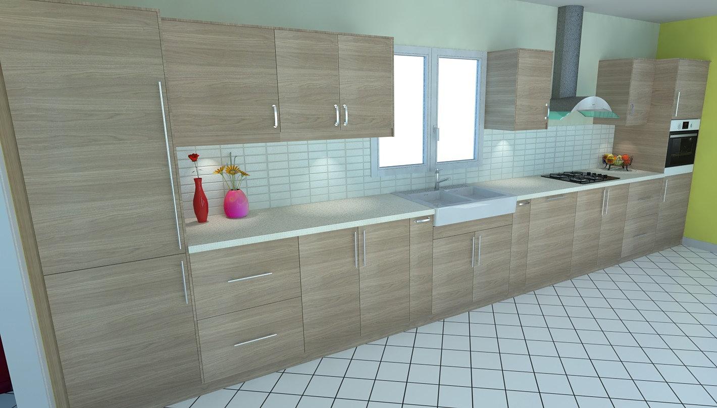 logiciel 3d realiser votre cuisine dynamique agencement cuisine 3d. Black Bedroom Furniture Sets. Home Design Ideas