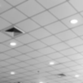 fluorescent lamp on the modern ceiling.j
