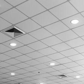 fluorescent lamp on the modern ceiling.j