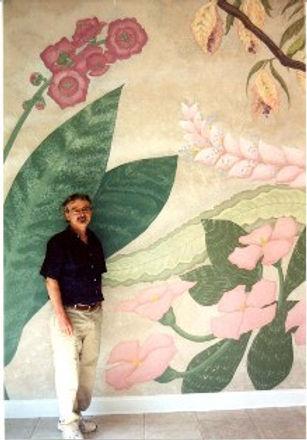 Salon Flower Mural- Detail 1 email large