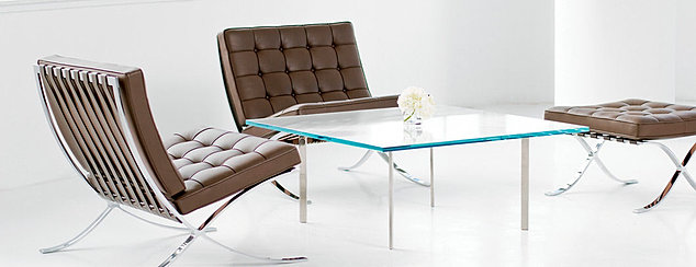 Design district mies van der rohe designs for less for Furniture 4 less outlet