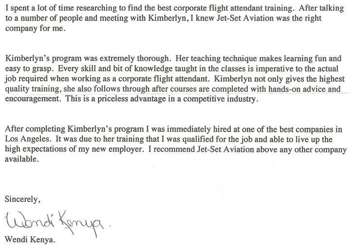... Attendant Training - Flight Attendants | letters-of-recommendation