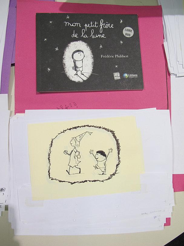 Livre et dessins