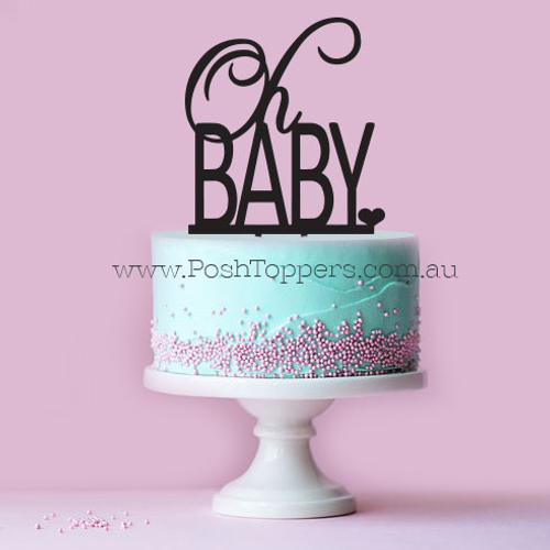 Baby Shower Cake Toppers Melbourne