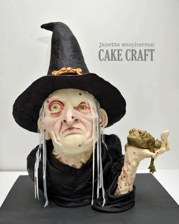 Cake Artist Sarah Jones : 10 of : The Coolest Spooky Cakes! Little Cherry Cake Company