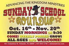 sunday school invitation flyer