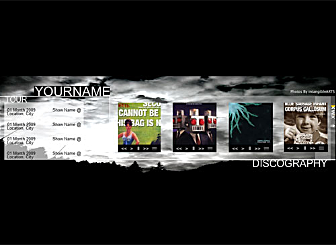 Singles Skies Template - creative types will love this Modern template design. Exhibit your work and passion with a simple and laid out look. Easy to customize, this high quality dynamic Header is waiting to promote your business on the web.