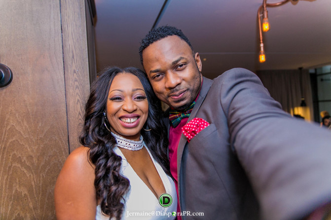 Dazzling Photos Of Didi Alfred Birthday In Posh London Resturant     CLICK GALLERY TO VIEW MORE PICTURES