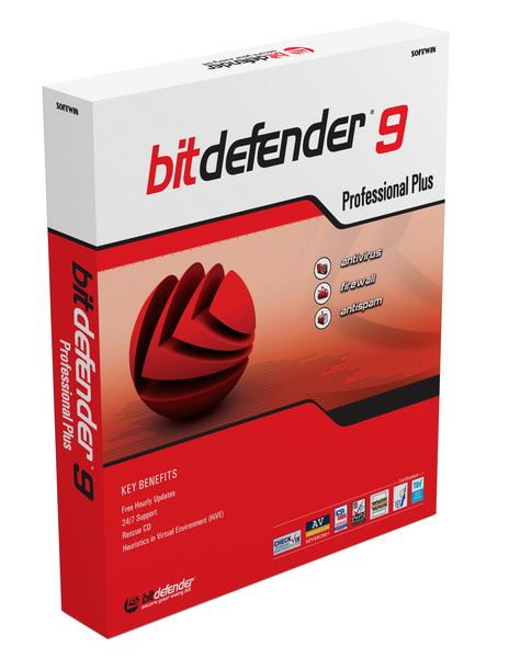 Антивирусы для домашних пользователей - BitDefender 9 Professional Plus.