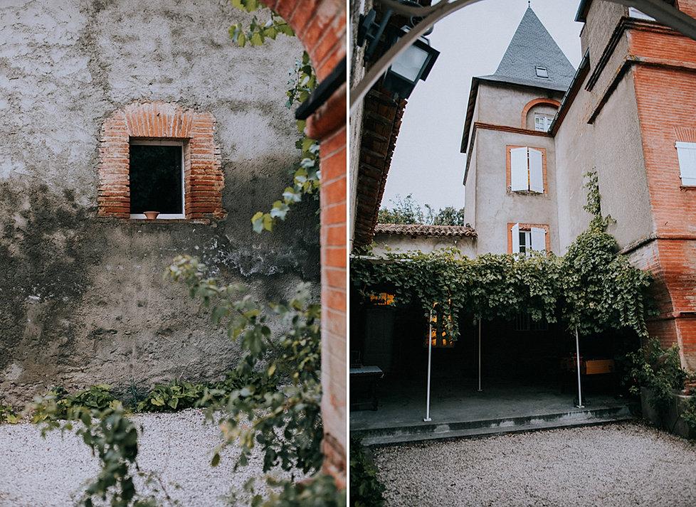 mariage champtre simple dans l ariege au chateau - Photographe Mariage Ariege
