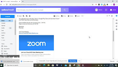 Using Zoom on the Computer
