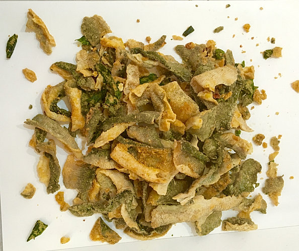 Frenziessnacks for Salted egg fish skin