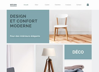 Home Decor Template - Create a professional online store with this warm yet and contemporary home accessories template. Start editing to create an easy-to-navigate website that allows viewers to browse products on your homepage with ease. Simply upload images to the product gallery, personalize the descriptions and start selling today.