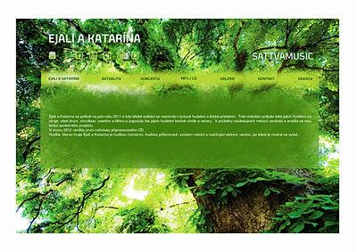Ejali a Katarína - music project web