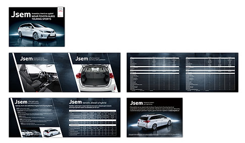 Toyota fleet brochure