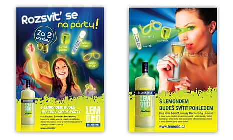 Becherovka Lemond promotion