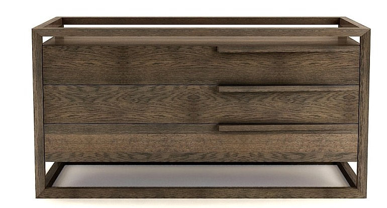 Domicile Furniture Box Double Dresser