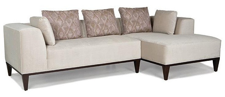 Domicile Furniture Velvet Sectional