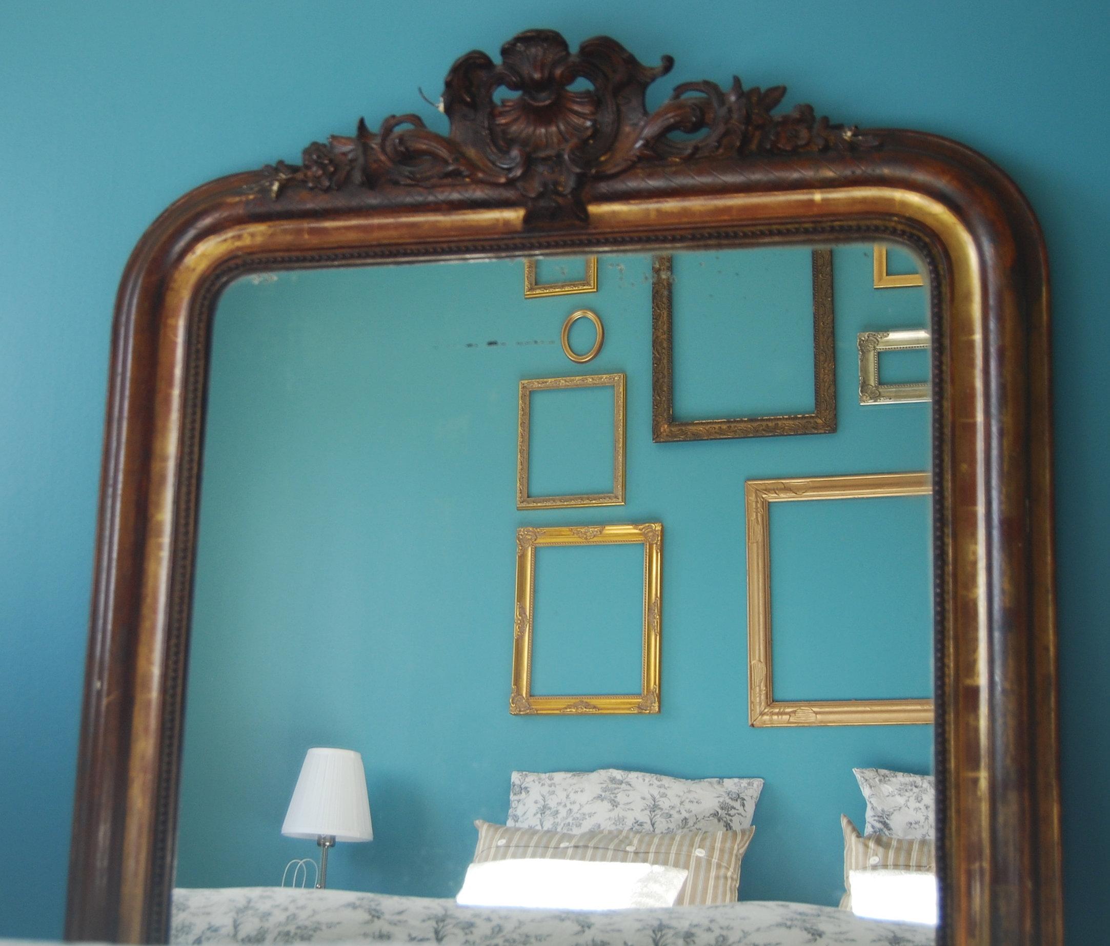 BÔ m. décoration chambre bleu bordeaux