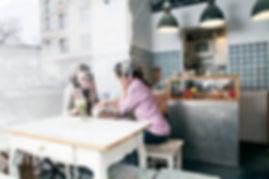 Women in a restaurant
