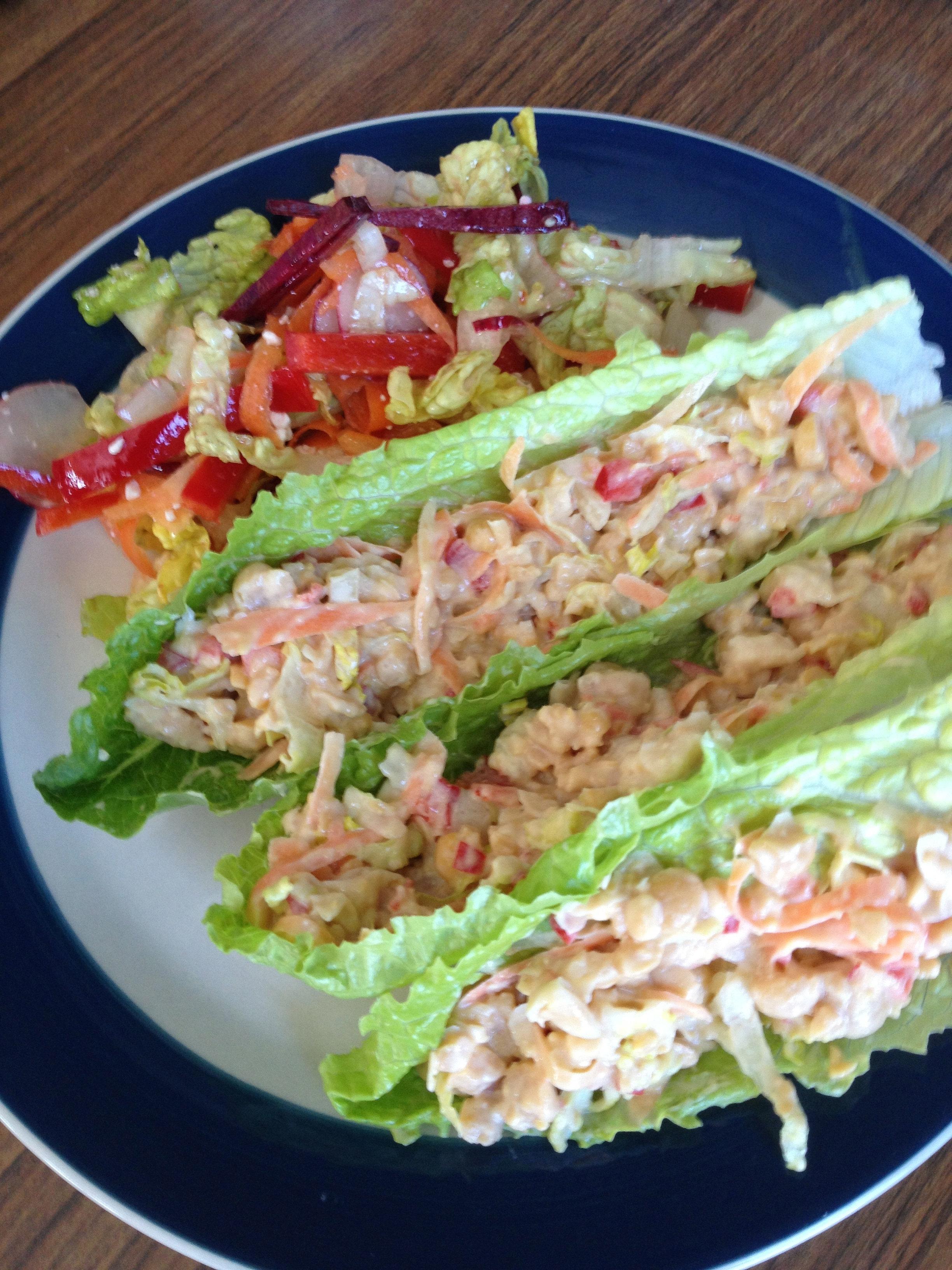 mymommas | mock tuna salad