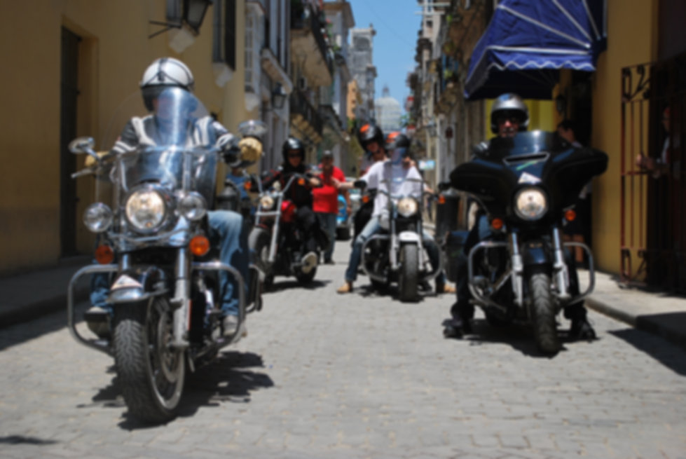 CUBA Bkers | Live to Ride motoribike tour