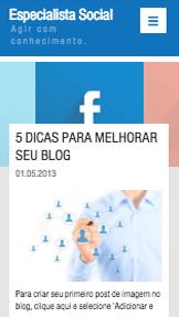 Blog de Mídia Social